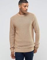Bellfield Chunky Textured Knitted Sweater
