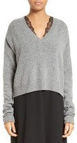 McQ Women's Wool & Cashmere Cutout Sweater