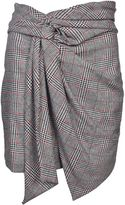 Isabel Marant Patterned Asymmetric Skirt