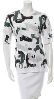 Jil Sander Printed Short-Sleeve T-Shirt