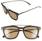 Salvatore Ferragamo Men's 54Mm Sunglasses - Matte Havana