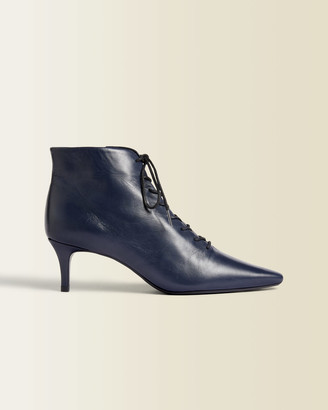 Jigsaw Winnie Leather Pointed Boot