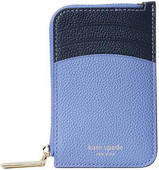 Kate Spade Margaux Zip-Around Leather Card Holder