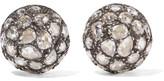 Fred Leighton - Collection 18-karat Gold Diamond Earrings - one size