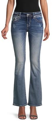 Miss Me Chloe Bootcut Distressed Jeans