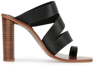 Senso Yasmina 100mm toe-ring sandals