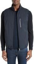 Armani Collezioni Men's Quilted Back Vest