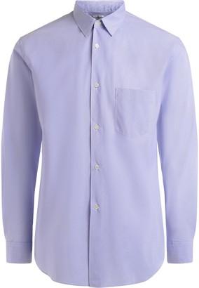 Comme des Garcons Light Blue And White Stick Shirt