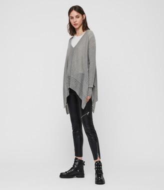AllSaints Mara V-Neck Sweater
