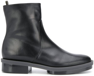 Clergerie Roll ankle boots