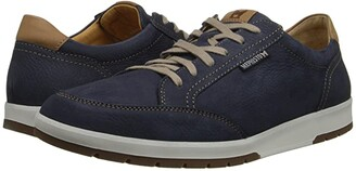 Mephisto Ludo (Navy Sportbuck/Hazelnut Mano) Men's Lace up casual Shoes