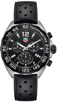 TAG Heuer Tag Heuer F1 men's stainless steel black strap watch