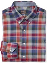 J.Mclaughlin West End Trim Fit Shirt in Plaid