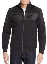 Calvin Klein Tonal Blocked Zip Jacket