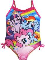 Hasbro Little Girls My Little Pony Character One Piece Swimsuit