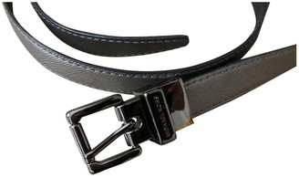 Michael Kors Silver Leather Belts