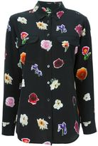 Equipment all-over flower print shirt