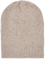 Barneys New York Men's Donegal-Effect Cashmere Oversized Beanie-NUDE