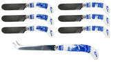 Spode Blue Italian Cheese Knife & Spreaders (7 PC)