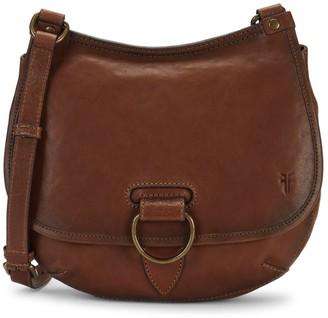 Frye Lucy Leather Saddle Crossbody Bag
