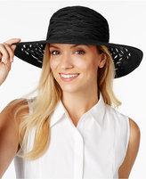 Nine West Semi-Sheer Sun Hat