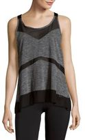 Zobha Parker Mesh Blocked Tank Top