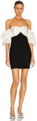Cinq à Sept Teagan Dress in Black & Ivory | FWRD