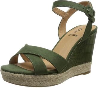 S'Oliver Women's 5-5-28302-26 Wedge Sandal