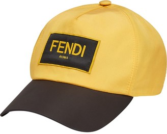 Fendi Logo-Patch Baseball Cap