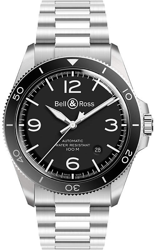Bell & Ross BRV292-BL-ST/SST stainless steel automatic watch