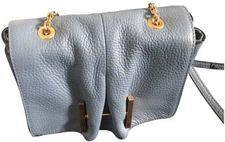 Coccinelle Blue Leather Handbags