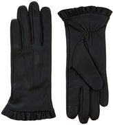 Oasis Leather Ruffle Glove