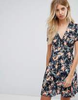 French Connection Printed Floral Dress