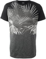 Diesel contrast sleeve T-shirt - men - Cotton - XL