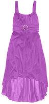 Ruby Rox Girls' Sheer High-Low Dress