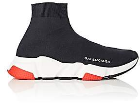 Balenciaga Women's Speed Knit Sneakers-Dark Gray