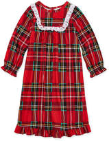 Asstd National Brand Long Sleeve Nightgown-Toddler Girls
