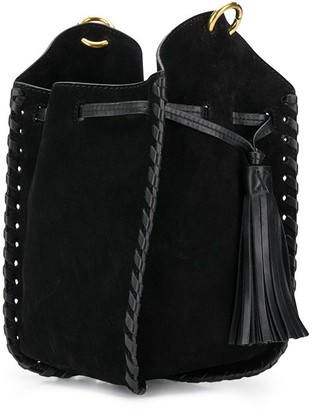 Isabel Marant Radja woven-leather bucket bag
