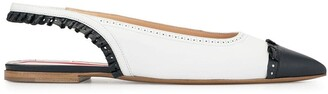 Thom Browne slingback flat shoes