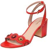 XYD Prom Trendy Ankle Strap Cut Out Singbacks Sandals Low Block Heel Open Toe Women Shoes Size 12
