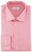 Eton Contemporary-Fit Micro-Check Dress Shirt, Pink