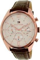Tommy Hilfiger Men's 1791183 Sophisticated Sport Analog Display Quartz Brown Watch