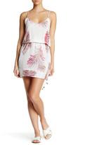 Vix Krishna V-Neck Silk Mini Dress