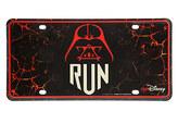 Disney Darth Vader runDisney License Plate - Star Wars