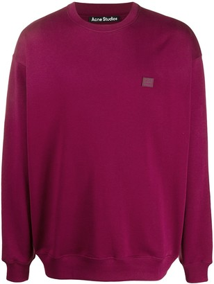 Acne Studios Cotton Long-Sleeve Sweatshirt