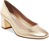 Steve Madden Women's Tomorrow Block-Heel Pumps