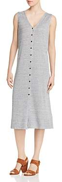 Lafayette 148 New York Button-Front Lightweight Knit Dress