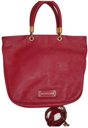 Marc by Marc Jacobs Too Hot to Handle Burgundy Leather Handbags