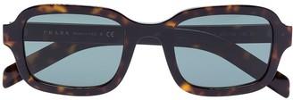 Prada Rectangular Tinted Sunglasses