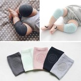 Bosoner Baby Crawling Anti-Slip Knee, Unisex Baby Toddlers Kneepads 5 Pairs
